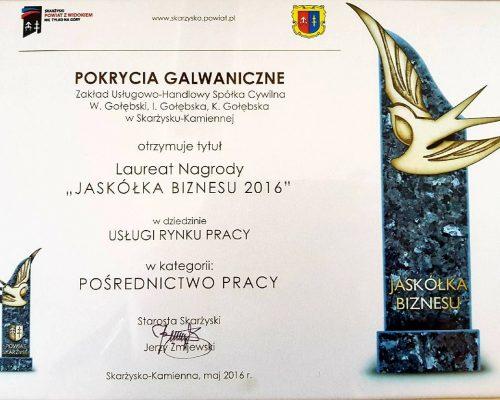 3 certyfikaty